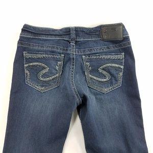 Silver Jeans Suki Mid Boot Super Stretch Denim